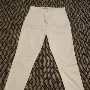 Gap White Khakis size 2 Regular